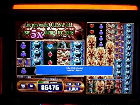 genie slots hand pay win
