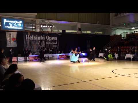 Helsinki Open Dance Festival 2014 World Open final waltz