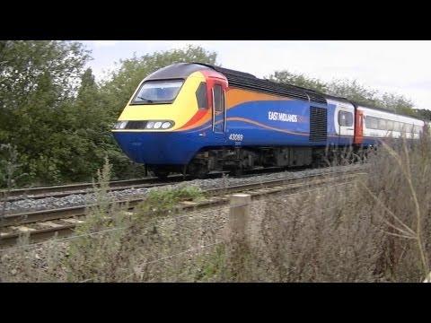Trains at Attenborough Nature Reserve 15 / 10 / 12