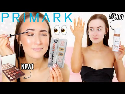 TESTING *NEW* PRIMARK BEAUTY... (Makeup, Fake Tan, Lashes Etc...)