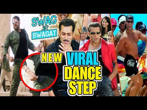 Salman Khan के Viral Dance Step | Swag Se Swagat Song | Tiger Zinda Hai