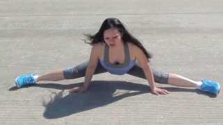 jenny kung fu flexibility demo