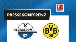 Pressekonferenz vor dem Spiel gegen Borussia Dortmund