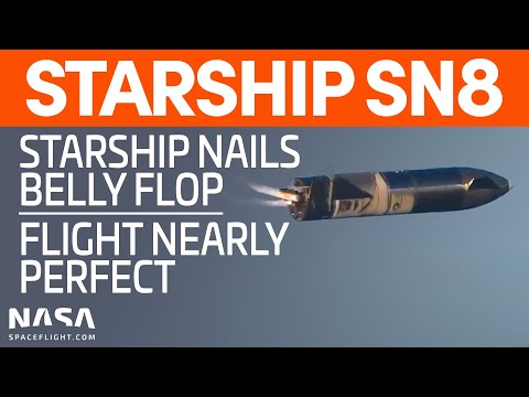Starship SN8 Soars for Groundbreaking Test Flight from SpaceX Boca Chica