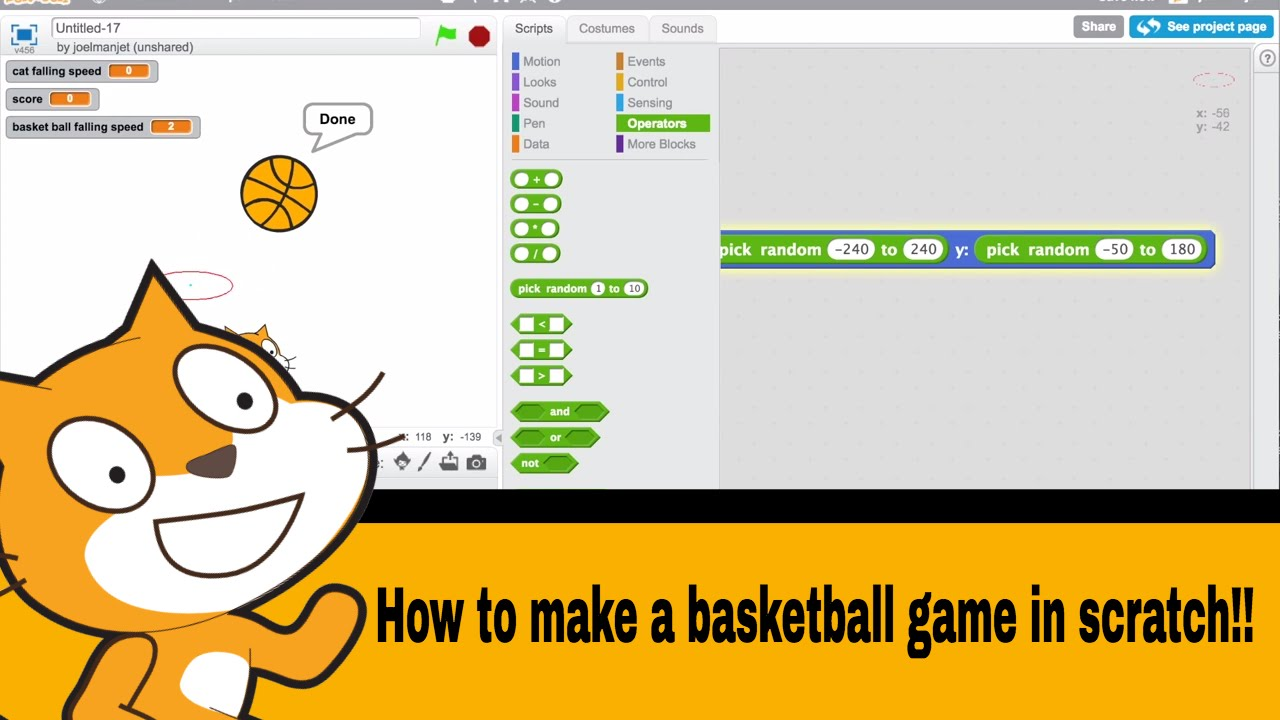 How To Make A Easy Platformer Game On Scratch ...