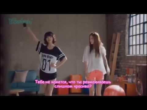 (Рус саб / Rus Sub) Sulli F(x) & Yoona SNSD - Making Data Ver1. [SKT LTE] CF