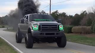 Большие Турбо Двигателя  | Лучший Звук Двигателя V8 V12 | Американские грузовики