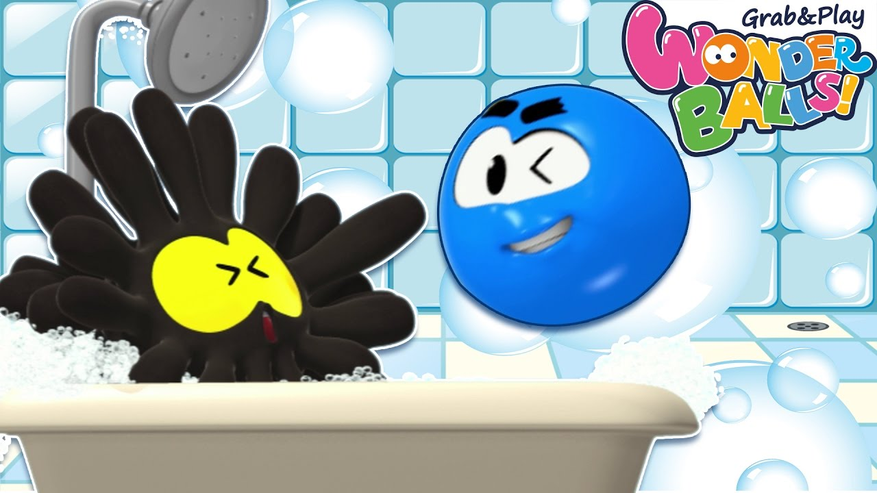 Bath Time With Wonderballs Bubble Bath And More Cartoons For