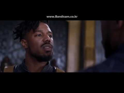 "Black Panther ""Killmonger"" Japanese Dub"