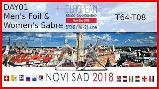 European Championships 2018 Novi Sad Day01 - Piste Red