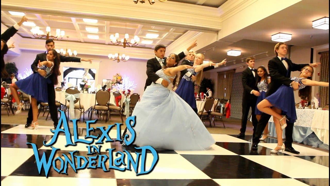 Quinceanera Waltz Alexis in Wonderland Quinceanera