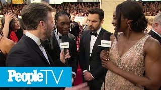 Shameik Moore & Jake Johnson On Their Voice-Over Work For Spiderman: Into the Spiderverse | PeopleTV