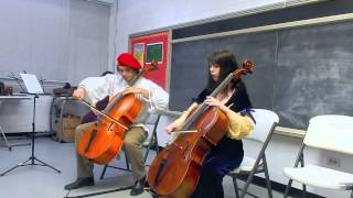 Concert: unnamed piece 2 - Brian Gaona and student