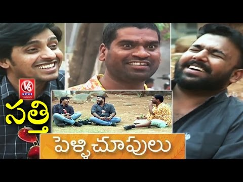 Bithiri Sathi Funny Chit Chat With Pelli Choopulu Movie Team || Teenmaar News || V6 News