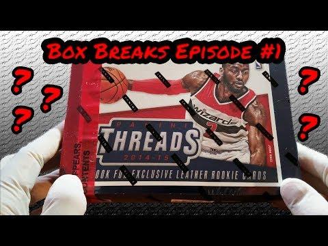 2014-15 Panini Threads Basketball NBA Hobby Box Break Episode 1- Flava4TheSoul