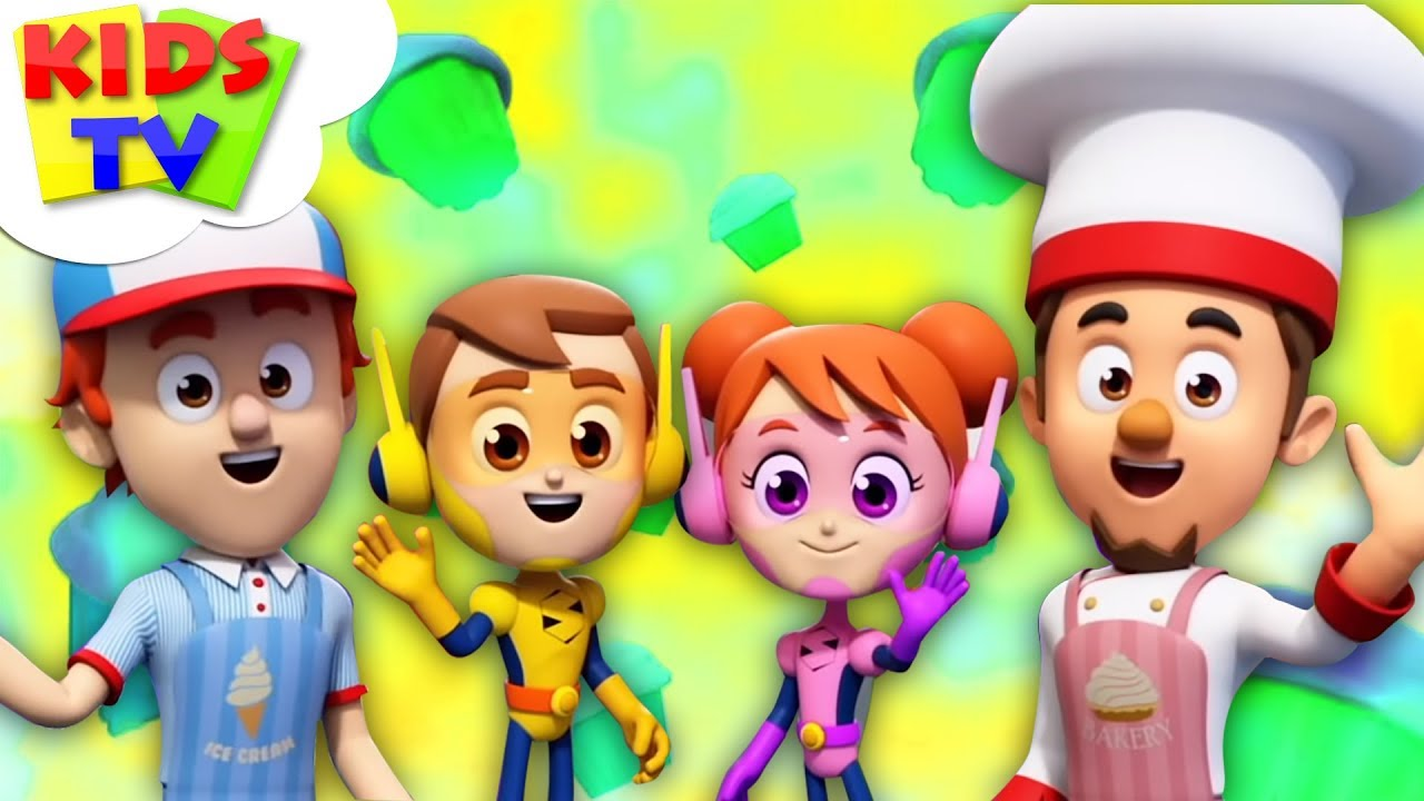Muffin Man | The Supremes | + More Nursery Rhymes & Children Songs - Kids TV