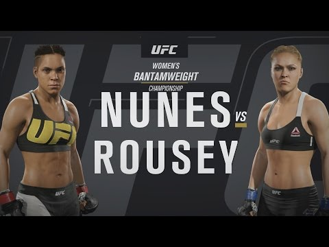EA SPORTS UFC 2  UFC 207: Amanda Nunes v Ronda Rousey Gameplay 1080p HD