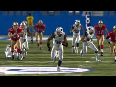 Jay Ratliff Fumble Recovery TD / Madden 11 360