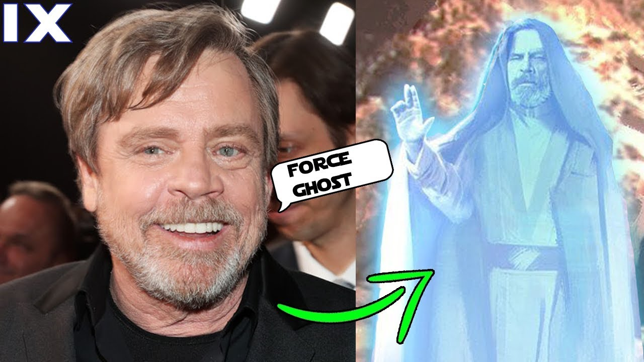 Mark Hamill Reveals Luke Will Be A Force Ghost In Episode 9 Rise Of Skywalker