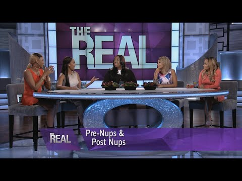 """The Real"" Ladies Talk Pre-Nups & Post-Nups"