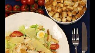 Салат цезарь - Кулинарная рубрика