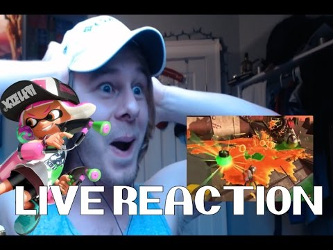 LIVE REACTION - Splatoon 2 Salmon Run revealed - April 12 2017 Nintendo Direct