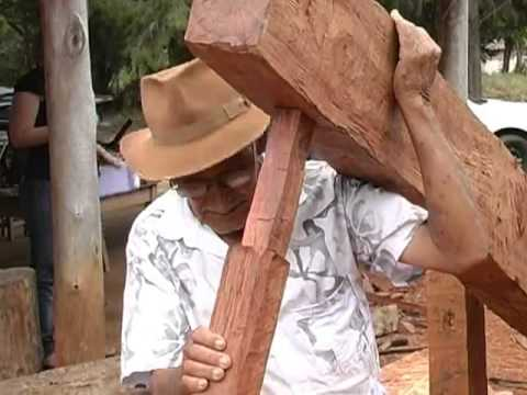 Construção de monjolo