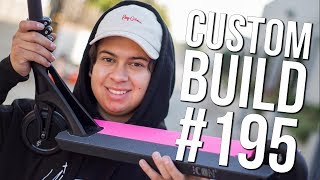 Custom Build #195 (Lil Peep Tribute) │ The Vault Pro Scooters