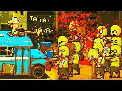 Мультик игра про Пиксельных Человечков Выживание в мире Зомби Апокалипсиса детский летсплей #FGTV