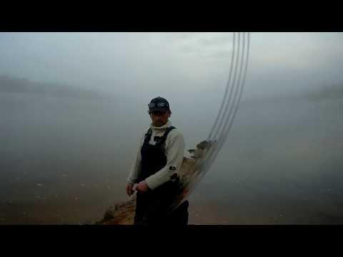 Рыбалка на Вятке, в поиске рыболовных мест, авто монстры.