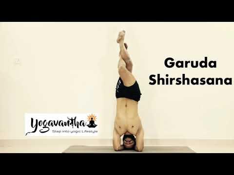 Advanced Yoga : Garuda Shirshasana