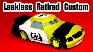 Pixar Cars Leakless Retired with Custom Paint Job