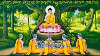 !2  Homage To The Buddha Chanted By Bhante Indarathana Eng Subtitles 1