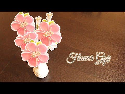 Цветы в технике канзаши. Мастер классы с фото и видео