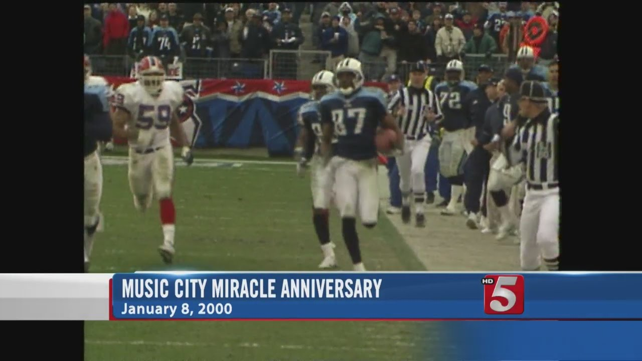 Thursday Marks 15 Years Since Music City Miracle Youtube