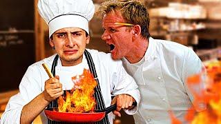 Intentando Cocinar Mientras Gordon Ramsay Me Insulta