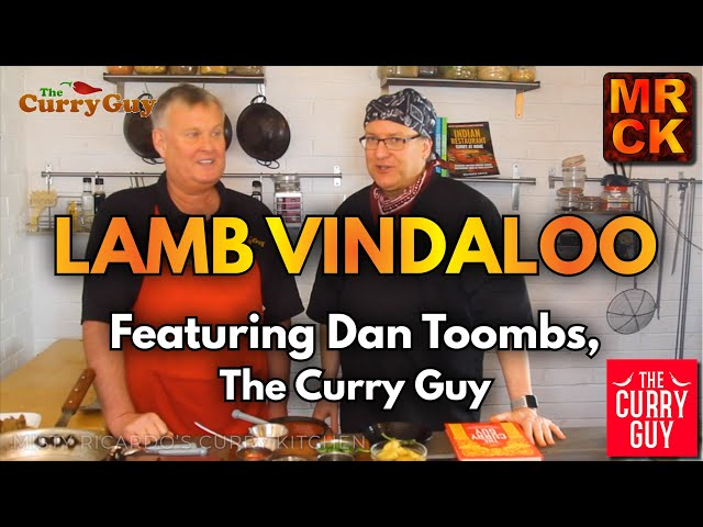 How To Make Lamb Vindaloo - Misty and Dan the Curry Guy Collaborate