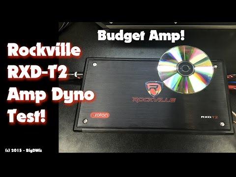 Rockville RXD-T2 Amp Dyno Test 1200W