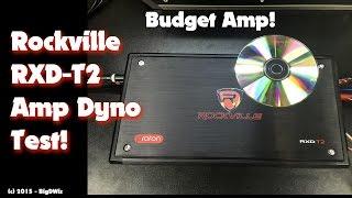 rockville rxd t2 amp dyno test 1200w