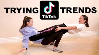 Download Trying Popular Tik Tok Trends - Merrell Twins Mp3 and Videos