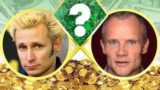 whos richer?   mike dirnt or flea?   net worth revealed 2017