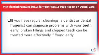 Dentist Brentwood TN - How Much Does Professional Teeth Cleaning Cost?