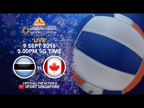 Netball: Botswana vs Canada | Mission Foods Nations Cup 2016