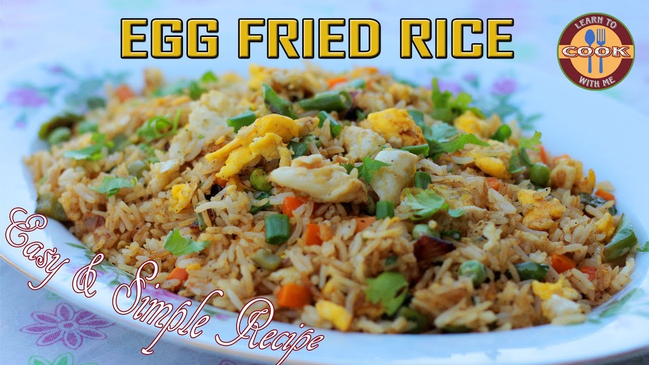 Egg fried rice recipe make restaurant style egg fried rice at egg fried rice recipe make restaurant style egg fried rice at home easy quick recipe ccuart Images