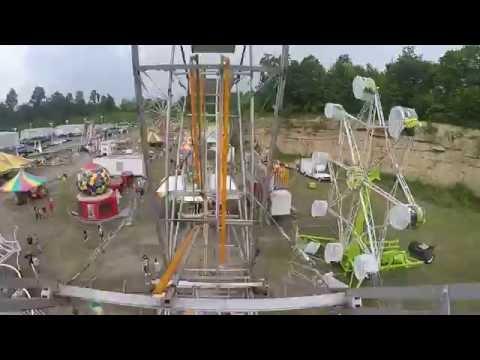 Ferris Wheel - GoPro POV - Gambill Amusements Carnival - June 4, 2016