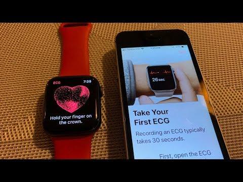 Magyarországon is működik az Apple Watch Series 4 EKG funkciója (amerikai órával)