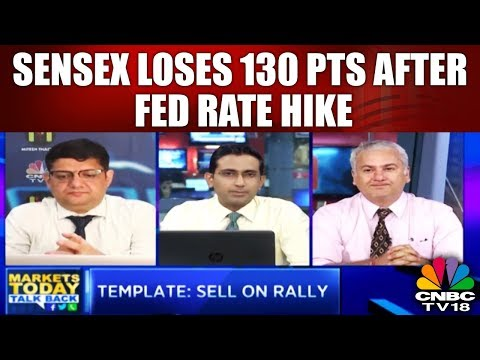 Sensex Loses 130 pts After Fed Rate Hike; Banks Drag (22nd March) | Market Today Talk Back