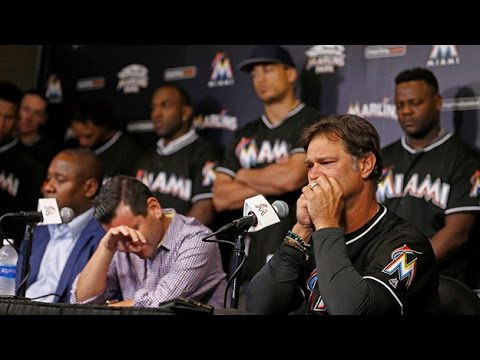Web Video Extra: Miami Marlins Press Conference Regarding Death Of Jose Fernandez