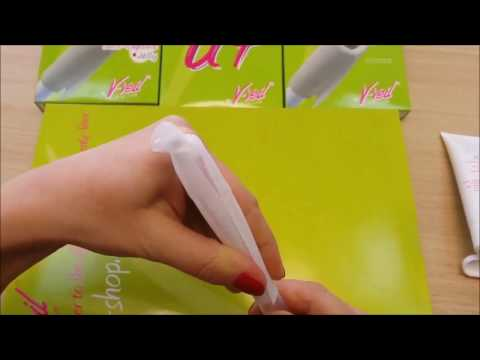 Applying And Difusing Vaginal Cream Or Gel With V-Veil UP