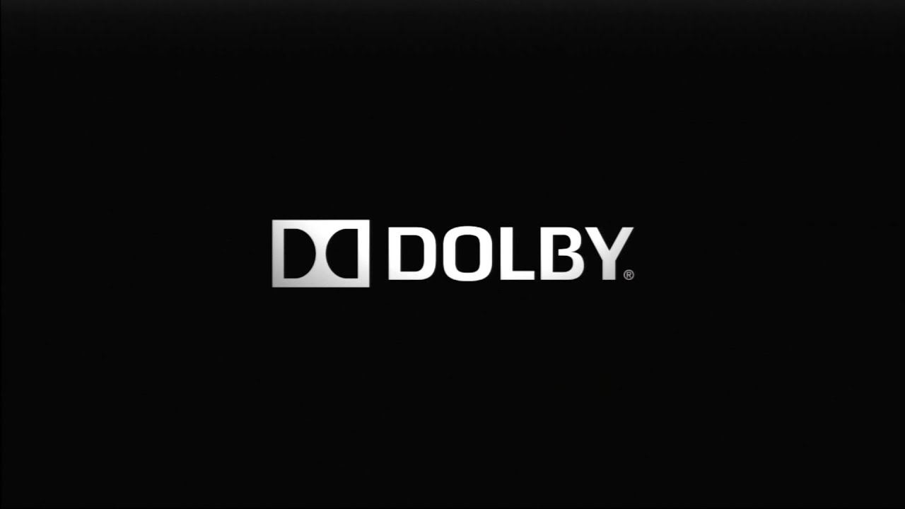 Dolby Logo With Sound Youtube